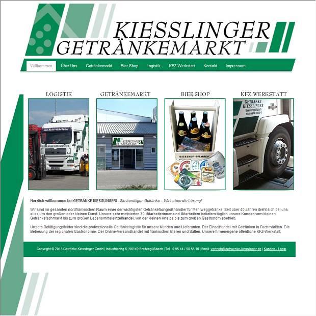 Getränke Kießlinger GmbH in Breitengüßbach - Branchenbuch Deutschland
