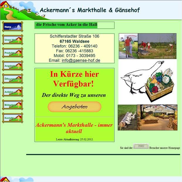 Ackermann Waldsee