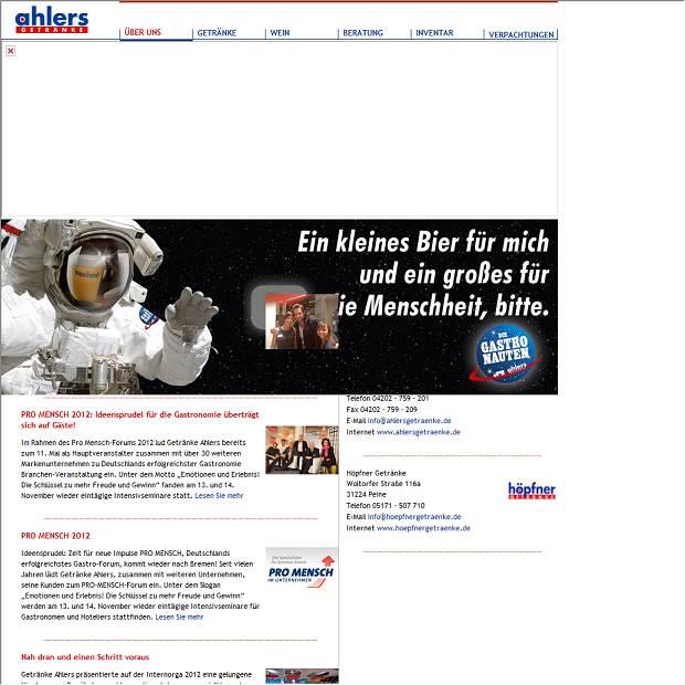 Getränke Ahlers GmbH in Achim - Branchenbuch Deutschland