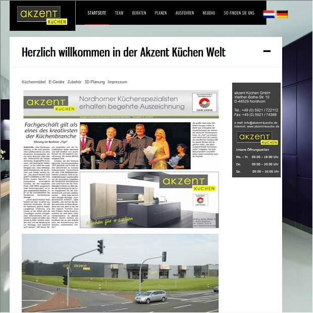 Küchen Nordhorn akzent küchen gmbh in nordhorn branchenbuch deutschland