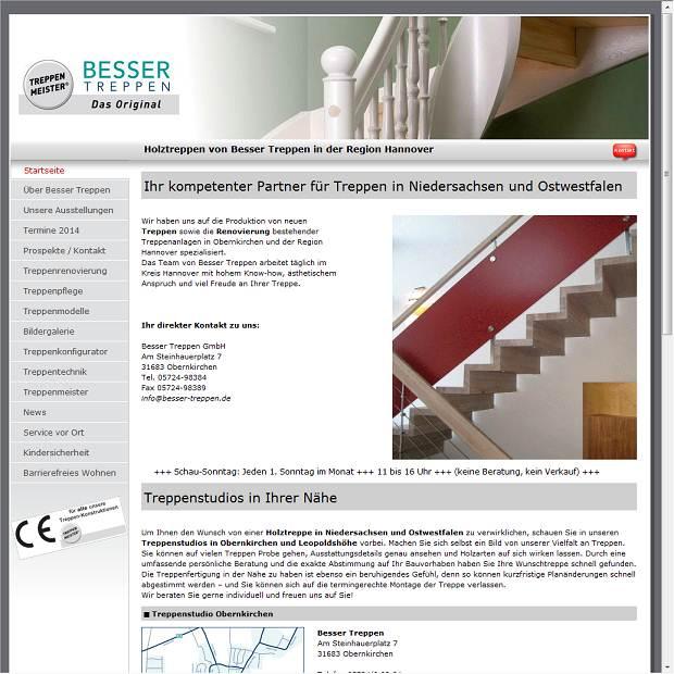 Besser Treppen GmbH in Obernkirchen - Branchenbuch Deutschland