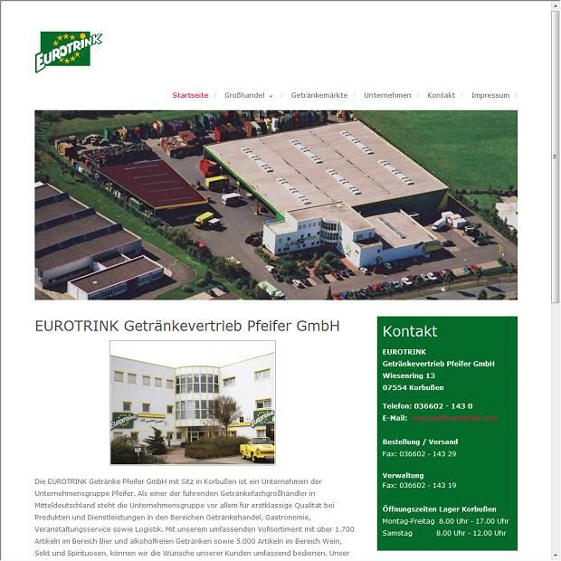 EUROTRINK Getränkevertrieb Pfeifer GmbH in Korbußen - Branchenbuch ...