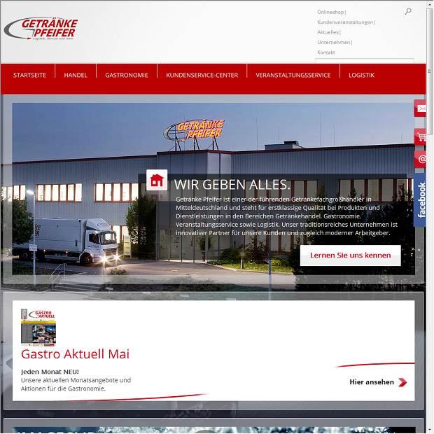 Getränke Pfeifer GmbH & Co. KG in Grüna - Branchenbuch Deutschland