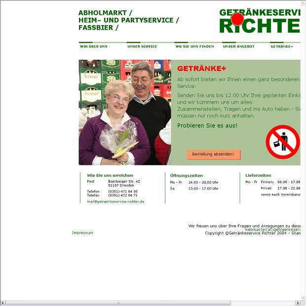Dietmar Richter, Getränke-Service in Dresden - Branchenbuch Deutschland