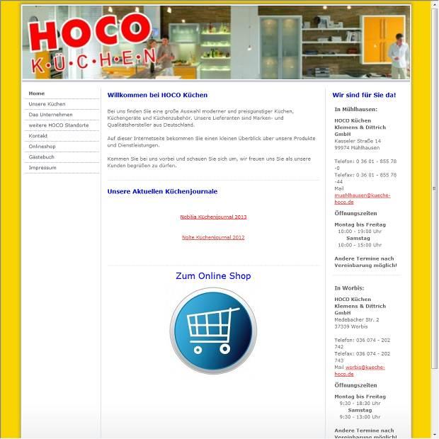 Hoco Kuchenstudio Gmbh In Muhlhausen Branchenbuch Deutschland