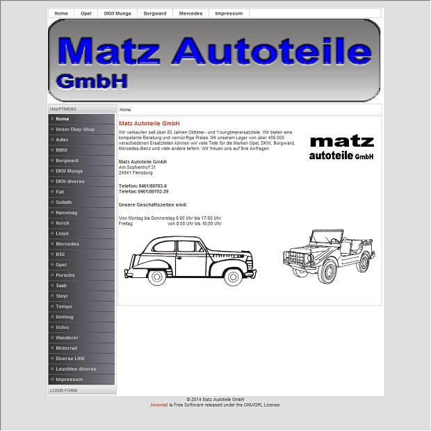 Matz Autoteile GmbH in Flensburg - Branchenbuch Deutschland