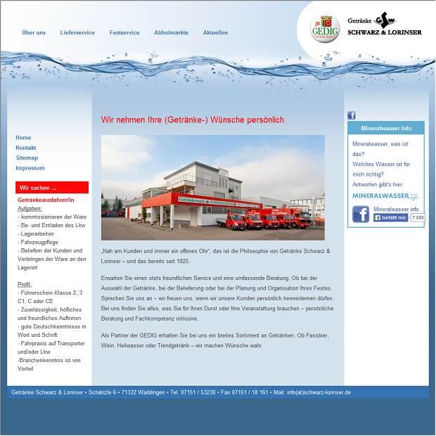 Getränke Schwarz und Lorinser GmbH in Waiblingen - Branchenbuch ...