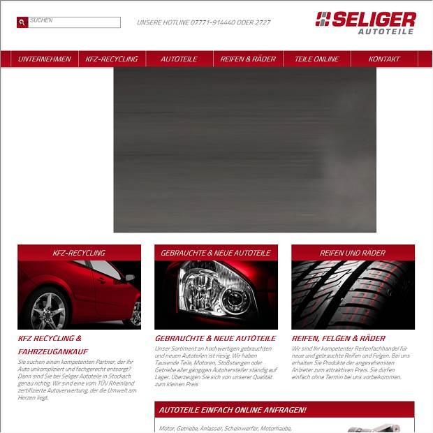 Seliger, Autoverwertung- u. Gebraucht-Autoteile in Stockach ...