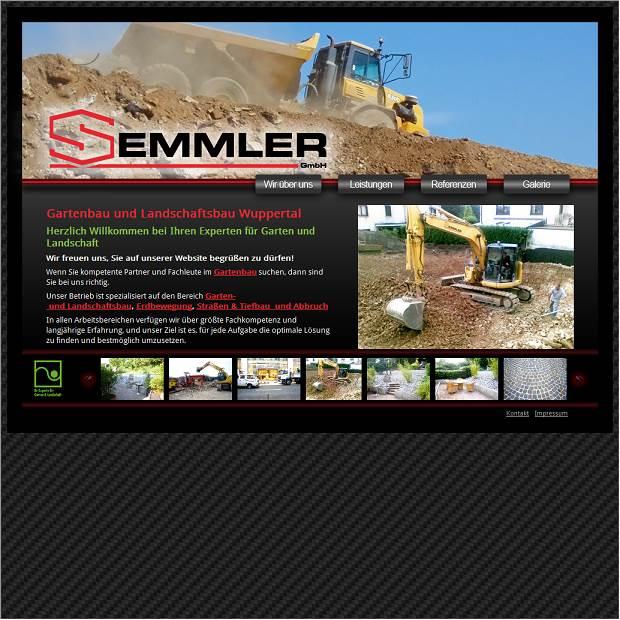 Webseiten Vorschau, Website Von Garten  U. Landschaftsbau Semmler GmbH