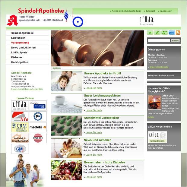 Spindel-Apotheke in Bielefeld - Branchenbuch Deutschland