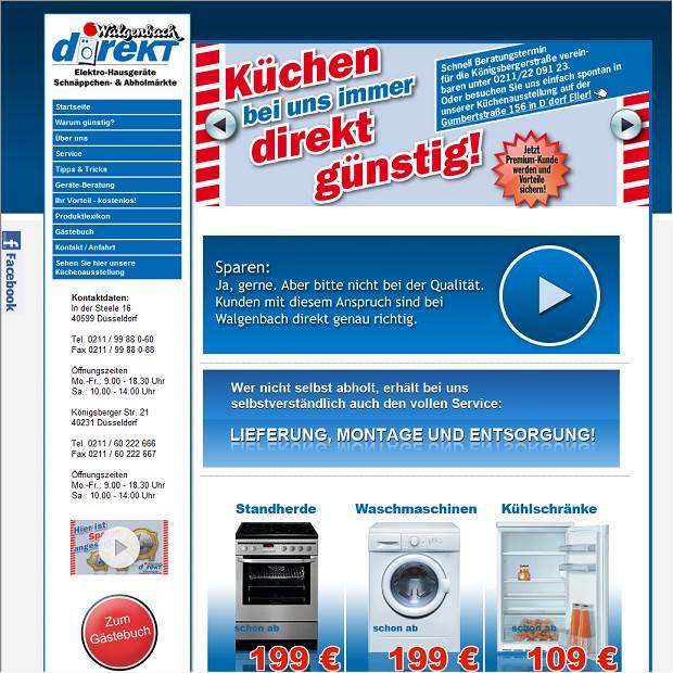 Walgenbach Düsseldorf walgenbach direkt elektro hausgeräte schnäppchen abholmärkte in