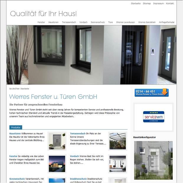 Fenster Leverkusen werres fenster und türen gmbh fensterbau in leverkusen