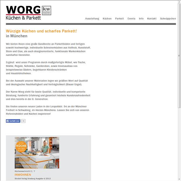 Worg Kuchen Kuchentischlerei In Hirschaid Branchenbuch Deutschland